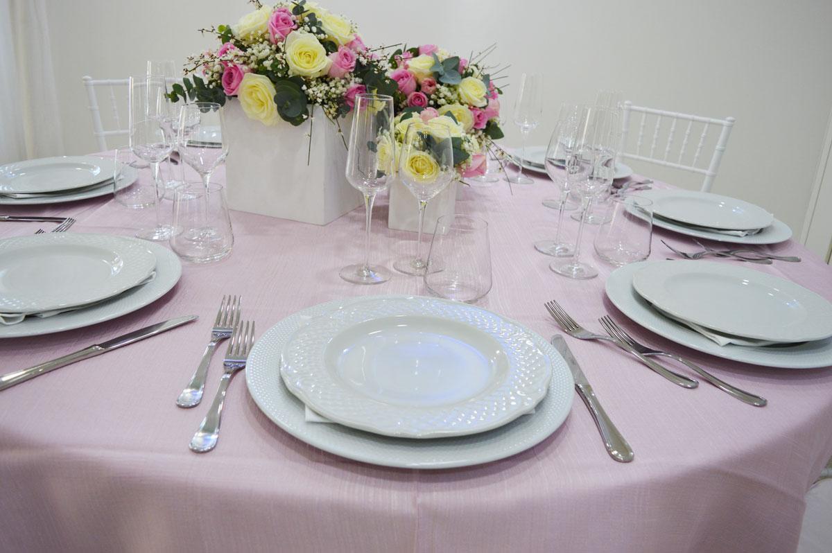 Tavolo rosa